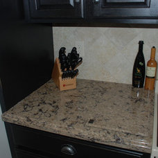 traditional kitchen countertops by Kirby Mast of Hartville Hardware