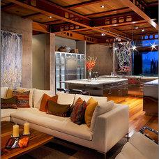 Modern Living Room by Michael Baxter | Baxter Imaging LLC