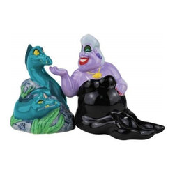 "Westland - 3.25"" Evil Ursula and Eels Sitting Together Salt and Pepper Shakers - This gorgeous 3.25"" Evil Ursula and Eels Sitting Together Salt and Pepper Shakers has the finest details and highest quality you will find anywhere! 3.25"" Evil Ursula and Eels Sitting Together Salt and Pepper Shakers is truly remarkable."
