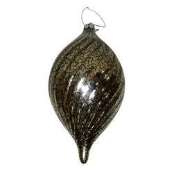 Silk Plants Direct - Silk Plants Direct Glass Swirl Ornament (Pack of 3) - Pack of 3. Silk Plants Direct specializes in manufacturing, design and supply of the most life-like, premium quality artificial plants, trees, flowers, arrangements, topiaries and containers for home, office and commercial use. Our Glass Swirl Ornament includes the following: