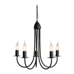 IKEA of Sweden - MOLNIG Chandelier - I like that this is as simple as it gets: a basic, pretty, no fuss chandelier — and at a great price too.