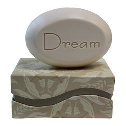 New Hope Soap - Scented Soap Bar Personalized – Dream, Freesia - Personalized Scented Soap Bar Gift Set Engraved with Dream
