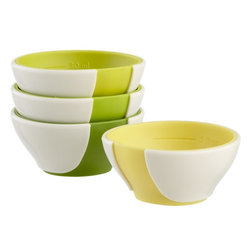Mini Pinch & Pour Prep Bowls, Set of 4 - Pinch and prep bowls can be fun too. Adding color to your kitchen makes cooking and baking more fun.