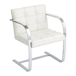 Nuevoliving - Nuevo Living Julius Lounge Chair - White - Features: