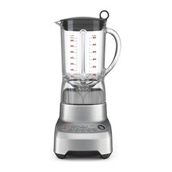 Breville - Breville BBL605XL Die-Cast Hemisphere 2-Speed Blender - Whether you're making margaritas, smoothies or soup, a 5-speed blender is a must-have. Specially designed blades keep large pieces from being stuck at the bottom and actually draw contents from the top downward. It's the ultimate wedding or housewarming gift.