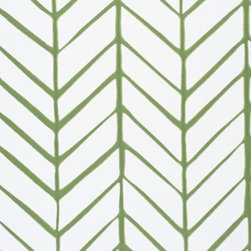Serena & Lily - Feather Wallpaper Clover - Taking its cue from traditional herringbone and chevron patterns, our original design is both graphic and organic on pure white. We love how the lines are perfectly imperfect, an effect that could only be brought to life to such exacting detail by one of the country 's most historic wallcovering manufacturers.