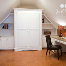 Traditional Home Office by Just Perfect! Home Staging + More