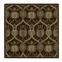 Essential Panama - 01 Natural Rug - Tara Square is the perfect shape to bring a stylist Caf? flair to any home or office. Awesome squares in an incredible selection of sizes. Tara Square s Hand-tufted from the finest 100% Virgin Wool Pile. Hand crafted in India.