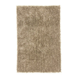 Jaipur - Flux Collection, Flux area rug by Jaipur FL06 - Personal expression reaches new heights with Flux, a beautiful range of plush, hand-woven shag rugs of 100% polyester. This chameleon is ideal for the contemporary design lover who enjoys mixing up his or her personal space often  acting as a rich background to a diverse palette of furnishings and accessories. Highly textured shag construction brings comfort underfoot while a palette of fashionforward solid hues commands attention in any room.