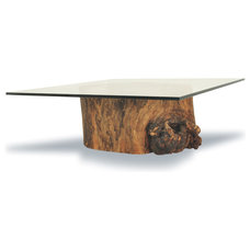 tropical coffee tables by Rotsen Furniture