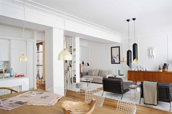 Contemporary Living Room by Mikel Irastorza