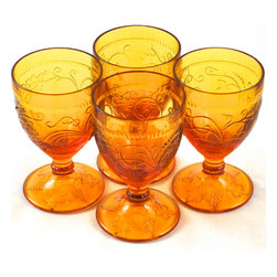 Adonis Collection | Vintage American Glass, Cups & Tumblers - Enhance your table with vintage American glassware.  These 20th century pieces constitute a treasure worth collecting and displaying. Mid-century American works for elegance everyday and sustainable living. Help the planet and reuse a beautiful, collectible piece, from an era when craftsmanship was durable and well-made. You will feel the difference by the touch and weight of it in your hand.
