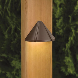 LANDSCAPE - LANDSCAPE 15765BBR 12V LED Mini Outdoor Deck Light - Versatile mini size and simple styling for multiple applications with the added benefit of LED technology. Illumination provided by integrated 1.9-W LED.