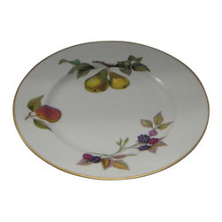 Royal Worcester - Royal Worcester Evesham Gold Salad Plate - Royal Worcester Evesham Gold Salad Plate