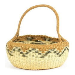 Go Home Ltd - Go Home Ltd Navajo Decorative Basket X-35071 - Pack of 2.