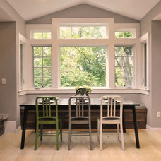 Modern Dining Room by Absolute Green Homes, Inc