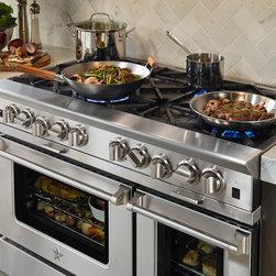 BlueStar Platinum Series: Integrated Wok Cookng - All gas range.