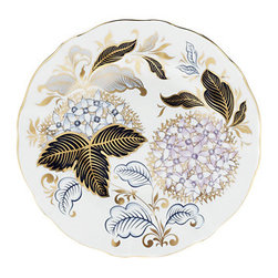 Royal Crown Derby - Royal Crown Derby Midwinter Blue Accent Plate - Royal Crown Derby Midwinter Blue Accent Plate