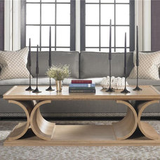 contemporary coffee tables by Barbara Schaver @ Furnitureland South