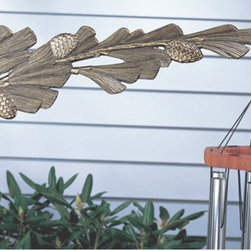 Pinecone Nature Hook - Accent your home or garden with the intricately designed Pinecone Nature Hook. that are sure to complement any decor.