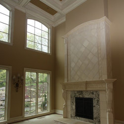 Cast Stone Fireplace - Cast Stone by Architectural Justice