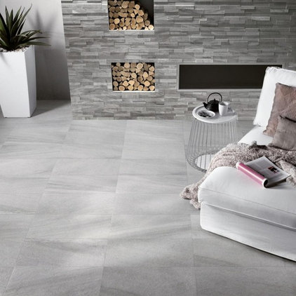 Fireplaces by Ceramiche Supergres