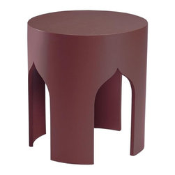Home Decorators Collection - Macau Accent Table - Enhance your home with the Macau Accent Table. Featuring a sleek silhouette and unique ogee-shaped legs, this accent table will add modern personality to any room. Display photos, home accents and more on this inspired table for an eye-catching look you're sure to love. Made from wood for years of lasting beauty and use. A smooth, bright finish completes the look.