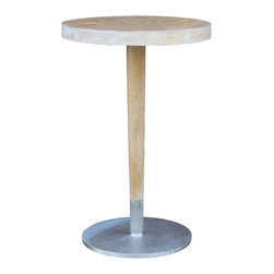 Mortise & Tenon - JW Accent Table - White Oak table top