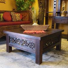 Asian Coffee Tables by Gado Gado