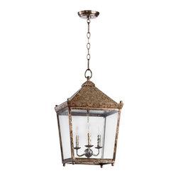 Cyan Design - Ranch House II Three Light Lantern - Ranch house ii three light lantern - rustic acid
