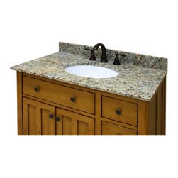 Sagehill Designs - Sagehill Designs 37W x 22D in. Vanity Top with Undermount Sink - OW3722-CW - Shop for Bathroom Counter Tops from Hayneedle.com! The Sagehill Designs 37W x 22D in. Vanity Top with Undermount Sink ensures your new master bathroom is outfitted with the finest most striking countertop available. This handsome vanity top comes with a pre-fitted white ceramic undermounted sink featuring a wide oval design and a luxurious 7.25 inches of depth. Four equally-stunning material options are available for the counter allowing you to best select the one that's right for your decor. Choose from: white Carrera marble desert beige granite midnight black granite or sable brown granite. A clear sealant affords the stone extra protection from chips and scratches while the stone itself comes polished to a glassy sheen. The unit comes pre-drilled with three-holes for a standard 8-inch widespread faucet setup (faucet assembly is not included). A matching four-inch high backsplash is included. A three-step installation design makes fitting the unit to your bathroom as easy as one-two-three. About Sagehill DesignsWith Sagehill Designs it's all in the details. Since 1986 Sagehill Designs has been crafting superior quality kitchen and bath furnishings. Rich in detail that matter you'll find heirloom-quality finishes impeccable craftsmanship and generous storage wrapped in a smart design. You get it all with a Sagehill Design original. Sagehill Design's specialists in helping you create the perfect kitchen or bath environment.