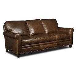 Hooker Furniture - Hooker Furniture Hemingway Eden Stationary Sofa - Hemingway Eden Stationary Sofa