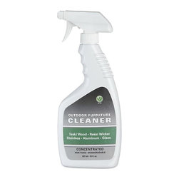 Outdoor Furniture Cleaner - For all of our outdoor furniture featuring teak, resin, stainless steel, aluminum and glass. Removes soil and stains and rinses residue free.
