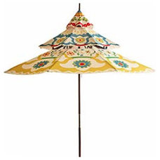 outdoor umbrellas by Pier 1 Imports