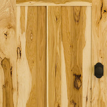 traditional hickory wood interior doors find interior