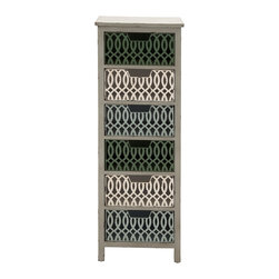 Timeless and Classic Wood Metal Storage Chest - Description: