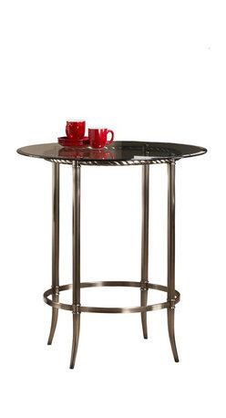 Hillsdale - Hillsdale Parkside Bar Height Pub Table in Antique Pewter - Hillsdale - Pub Sets - 5320PTB