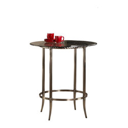 Hillsdale - Hillsdale Parkside Bar Height Pub Table in Antique Pewter - Hillsdale - Pub Sets - 5320PTB