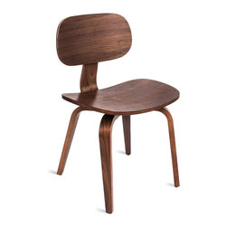 Gus Modern - Gus Modern Thompson Chair SE - For your desk, dining table or just about anywhere, this chair brings form, function and flair. Its desirably iconic shape, fashioned from molded plywood with a warm walnut finish, integrates easily with virtually any decor.