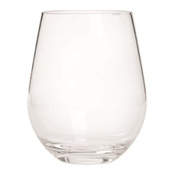Franmara - 20 Ounce Semi Rigid Rim-Full Bowl Clear Acrylic Stemless Wine Glass - This gorgeous 20 Ounce Semi Rigid Rim-Full Bowl Clear Acrylic Stemless Wine Glass has the finest details and highest quality you will find anywhere! 20 Ounce Semi Rigid Rim-Full Bowl Clear Acrylic Stemless Wine Glass is truly remarkable.