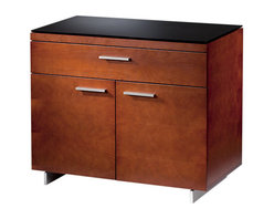 BDI - Sequel Storage Cabinet, Natural Cherry - The Sequel Storage Cabinet makes office your office the organized space you dreamed about. The top drawer allows for all necessities to be neatly stored, while the cabinet below makes for easy office supply storage. Three color options available.