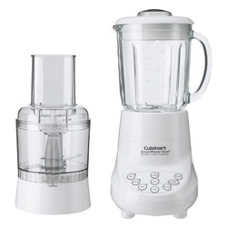 Cuisinart - Cuisinart SmartPower Duet Blender/Food Processor - 3-cup capacity food processor attachment with feed tube, pusher and liquid dispenser