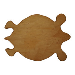 Shark Shade / Martin Carts - Turtle Hard Maple Cutting Board - Made with Rock Hard Maple Planks