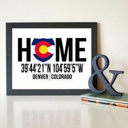 Framed Canvas   Home Colorado -