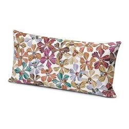 Missoni Home - Missoni Home | Meketewa Neutral Pillow 12x24 - Design by Rosita Missoni.