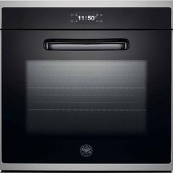 "Bertazzoni - Design Series F30 CON XE 30"" Single Electric Wall Oven With 4.1 Cu. Ft. Dual Fan - The all-new Bertazzoni Design Series combines flair and technical virtuosity in contemporary stainless steel and glass to create a shimmering presence in the kitchen"