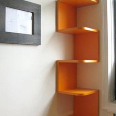 Contemporary Display And Wall Shelves  by Art of Interiors