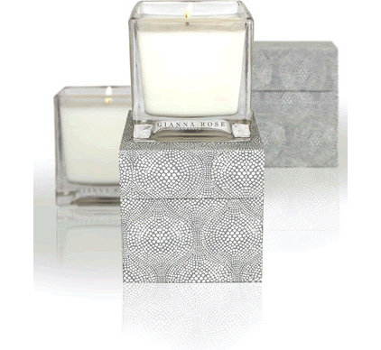 Tropical Candles And Candle Holders by Gianna Rose Atelier
