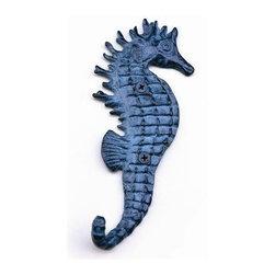 Seahorse Single Wall Hook -