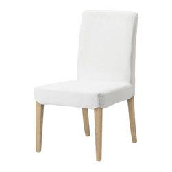 IKEA of Sweden - HENRIKSDAL Chair - Chair, birch, Gobo white